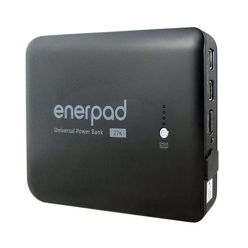 enerpad 攜帶式直流電 / 交流電行動電源 AC27KBK 黑色