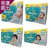 幫寶適Pampers 日本境內Pampers-綠幫彩盒版(黏貼型)4包裝NB/S/M/L【免運直出】