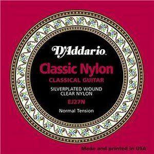 D'Addario EJ27N中張力古典吉他弦(28-43)【DAddario/尼龍弦/EJ-27N】