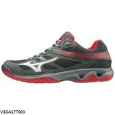 Mizuno Thunder Blade [V1GA177003] 男鞋 運動 羽球 排球 透氣 耐磨 止滑 美津濃 灰