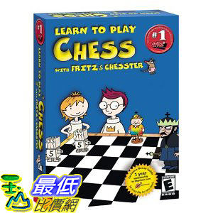 [美國直購 ShopUSA] Learn to Play Chess with Fritz and Chesster by Viva Media $1187