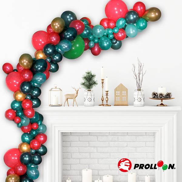 【大倫氣球】氣球花環 不規則氣球球柱 聖誕節款 Balloon Garland 聖誕派對 XMAS PARTY