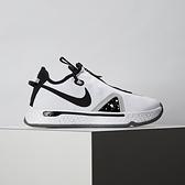 Nike PG 4 Oreo Paul George男鞋 白黑 XDR 耐磨底 拉鍊 運動 籃球鞋 CD5082-100