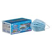 菲德 醫療防護口罩(藍色)-50入盒裝(單鋼印) 台灣舒潔 製造