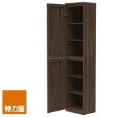 組-特力屋萊特高窄深木櫃.深木層板(1入x4).深木門(x2)