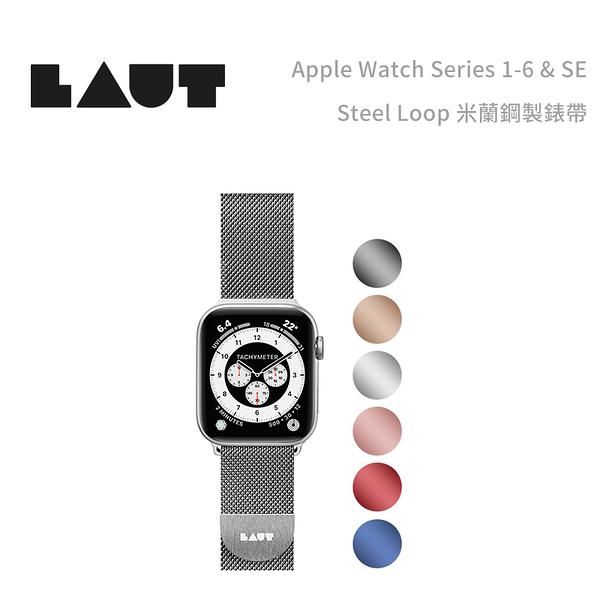 光華商場。包你個頭【LAUT】免運 Apple Watch STEEL LOOP 42/44mm 米蘭 鋼製錶帶 透氣