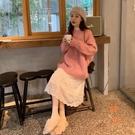 大碼毛衣連身裙女顯瘦氣質兩件套裝百搭長裙