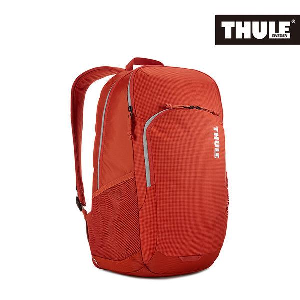 THULE-Campus 24L電腦後背包TCAM-3116-橘紅
