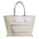 【南紡購物中心】LONGCHAMP MAILBOX系列牛皮前口袋手提包(大/粉白)