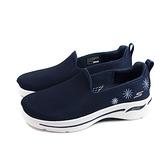 SKECHERS GOWALK 運動鞋 懶人鞋 女鞋 深藍色 124402NVY no247