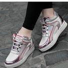 秋季最新款亮面隱形內增高休閒鞋女鞋......
