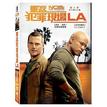 重返犯罪現場LA 第8季 DVD NCIS: Los Angeles Season 8 免運 (購潮8)
