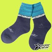 【PolarStar】兒童 保暖雪襪『深藍』P18613 戶外.登山.保暖襪.彈性襪.休閒襪.長筒襪.襪子.男版.女版