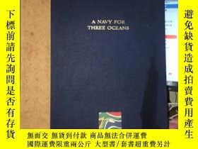 二手書博民逛書店A罕見Navy For Three Oceans 一支三大洋的海