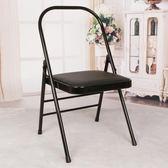 跨年趴踢購艾揚格瑜伽椅千匝紅輔助椅yoga加硬加粗瑜伽輔助折疊椅瑜伽課程