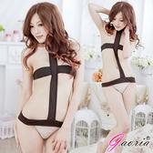 情趣用品睡衣專賣Gaoria 致命嬌媚三點式掛脖連體衣情趣睡衣情趣內衣N3 0029