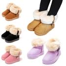 雪靴 中筒加厚女寶寶雪靴 女童鞋 寶寶靴...