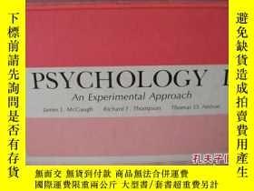 二手書博民逛書店PSYCHOLOGY罕見I: an experimental A