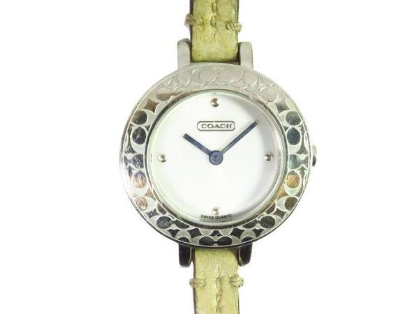 COACH LOGO錶框造型腕錶 【BRAND OFF】