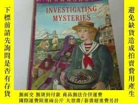 二手書博民逛書店INVESTIGATING罕見MYSTERIES(英文)Y212