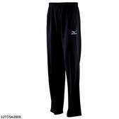 Mizuno [32TD5A3809] 男女 運動 休閒 慢跑 路跑 訓練 健身 輕量 柔軟 針織 長褲 黑