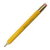 Camel 10mm木製六角桿自動鉛筆2.0mm 黃