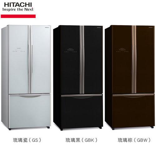HITACHI 日立 421L 變頻三門 (上對開、下抽屜) 電冰箱 RG430/ 430 ★2017/06/30前贈WMF品味禮