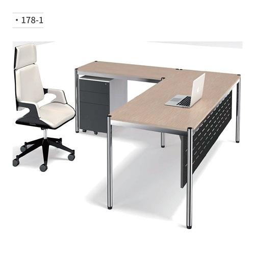辦公桌/主管桌 (鋁合金鋼腳) 178-1 (請來電詢價)