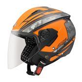 【東門城】ASTONE RST AQ1 彈性黑橘 3/4罩安全帽 通風佳 輕量化