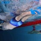 腳蹼 短蛙鞋成人潛水訓練腳蹼兒童游泳鴨腳板硅膠腳掌浮潛裝備