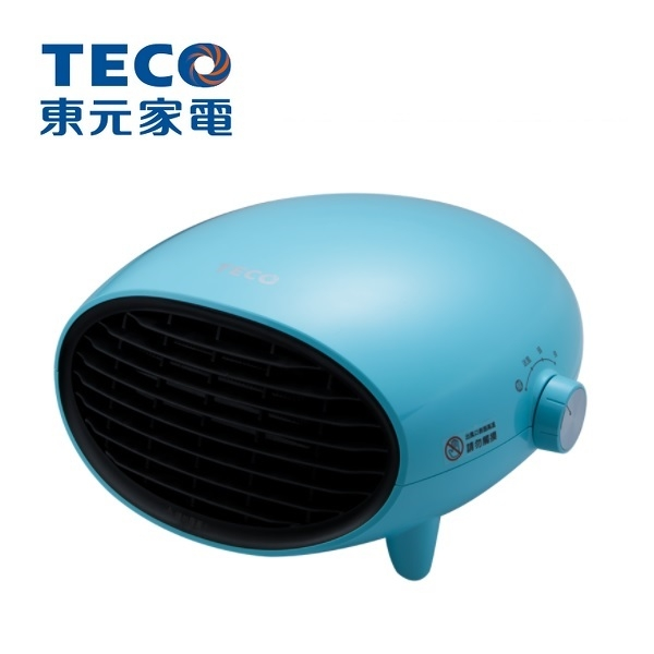 TECO 東元 可壁掛陶瓷電暖器-藍 YN1251CBB