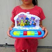 春季上新 兒童電子琴玩具1-3歲5寶寶多功能鋼琴男女孩嬰兒音樂琴0-6-12個月