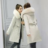 羽絨棉服女裝中長款2020冬季新款韓版寬鬆加厚派克服棉衣棉襖外套 快速出貨