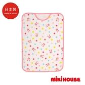 MIKI HOUSE 日本製 可愛舞颯兔防踢被(粉)