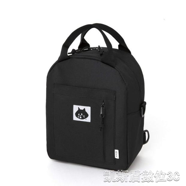 後背包日本MOOK附錄 NYA 黑貓 貓咪 貓頭 三用 肩背包 後背包 背包 凱斯盾