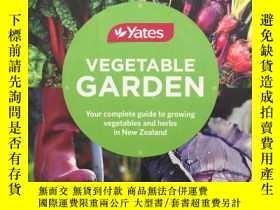 二手書博民逛書店Yates罕見Vegetable Garden (New Zea