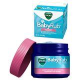 德國 Vicks BabyRub 嬰幼兒傷風感冒舒緩膏 50g 0617