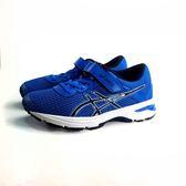 ASICS 亞瑟士 魔鬼氈 透氣吸震慢跑鞋 運動鞋 《7+1童鞋》5123 藍