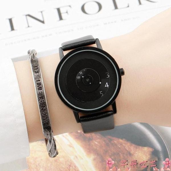 手錶黑科技韓版簡約潮流時尚概念創意個性初高中男女學生防水情侶手錶 芊墨 618大促