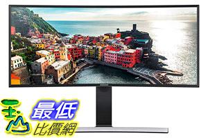 [8美國直購] 顯示器 Samsung S34E790C - 34-Inch Curved WQHD Cinema Wide (3440 x 1440) Professional LED Monitor