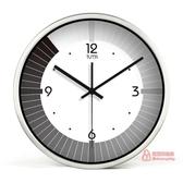 掛鐘 創意大掛鐘 個性客廳鐘金屬時鐘掛錶石英鐘天王星靜音機芯T 3色