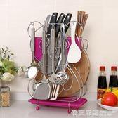 菜刀架家用廚房用品刀具架刀座菜板案板架廚具收納架置物架放刀架  依夏嚴選