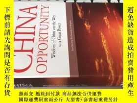 二手書博民逛書店THE罕見CHINA OPPORTUNITY 中國的機會【精裝】