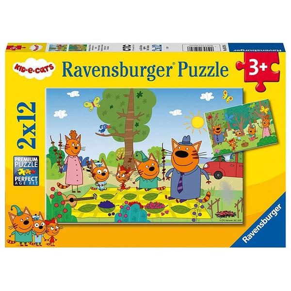 德國Ravensburger 維寶拼圖 綺奇貓 (2*12片)_RV05079