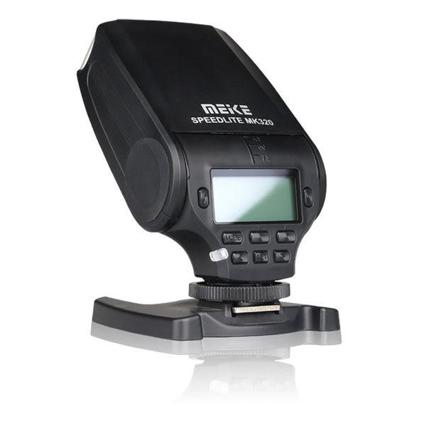 ◎相機專家◎ Meike 美科 MK-320 閃光燈 for Sony A7 A7II MK320 送柔光罩 公司貨