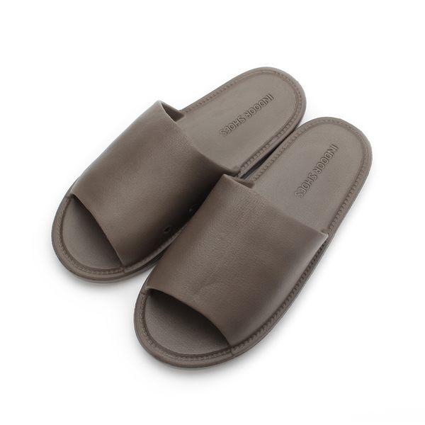 SLIPA 超Q軟底室內拖鞋 咖啡 JA36 男鞋 鞋全家福
