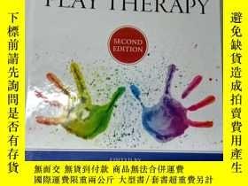 二手書博民逛書店Hand罕見book of PLAY THERAPY Secon