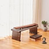 古琴桌 可折疊桐木古琴桌凳便攜式禪意共鳴矮琴桌琴台古箏桌新中式國學桌T
