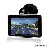 超值組合包 【CORAL】TP-668 導航機及行車紀錄儀多功能整合四合一機種 (送遮陽罩 後置鏡頭)