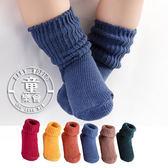 襪子 兒童 韓版 毛線 堆堆襪 短襪 BW